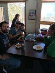 Adults sharing fellowship