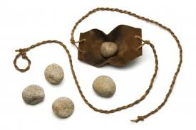 Davids sling and stones
